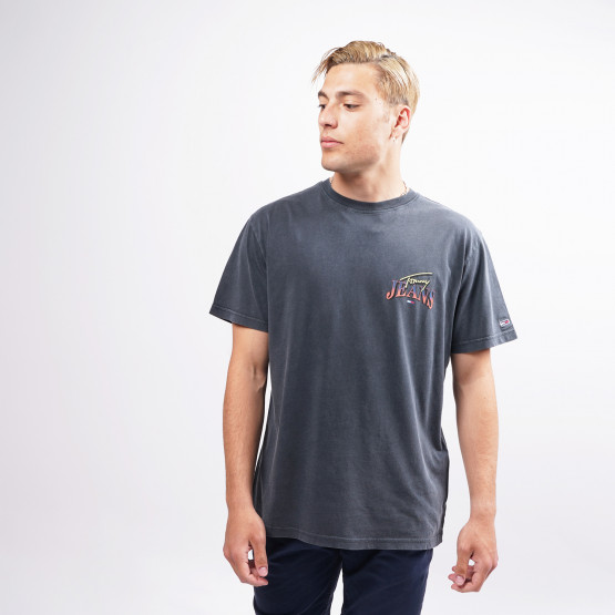 Tommy Jeans Diamond Back Logo Men's T-Shirt