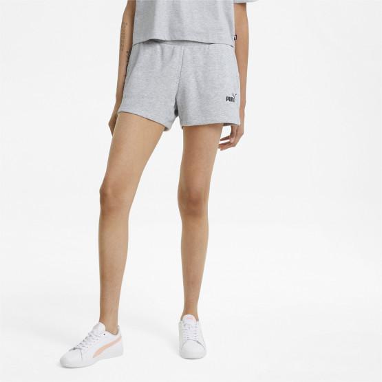 """Puma Essentials 4"""" Sweat Γυναικείο Σορτς"""