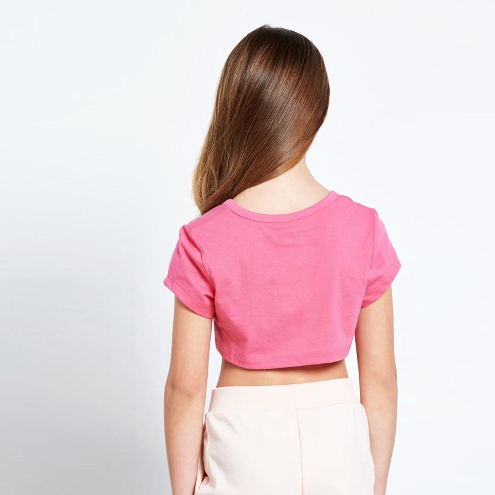 BodyTalk Bdtkg Cropped Tshirt 100%Co