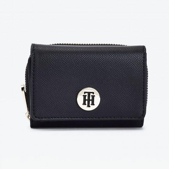 Tommy Jeans Honey Monogram Plaque Medium Flap Γυναικείο Πορτοφόλι