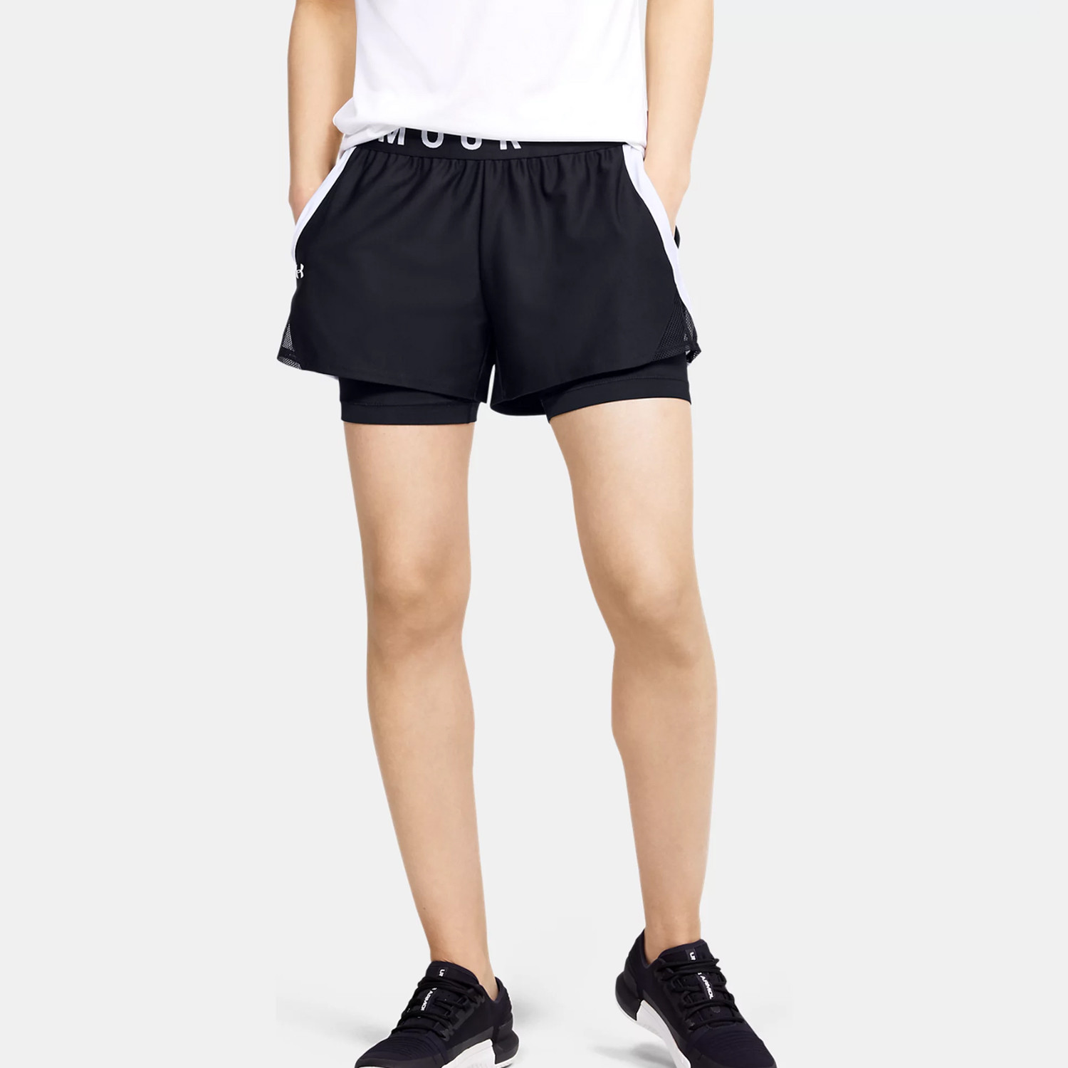 Under Armour Play Up 2-In-1 Γυναικείο Σορτς (9000070596_50724)