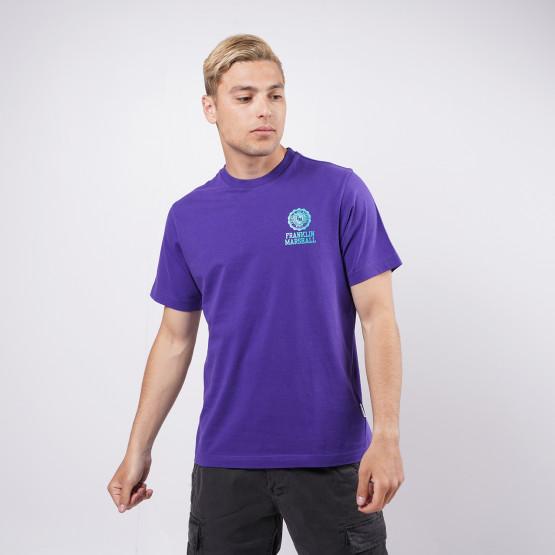 Franklin & Marshall Mini Logo Aνδρικό T-Shirt
