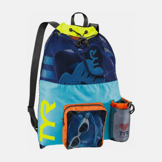 TYR Big Mesh Mummy Backpack Blu/Yellow