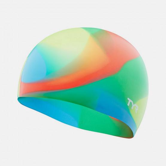 TYR Tie Dye Silicone Swim Cap