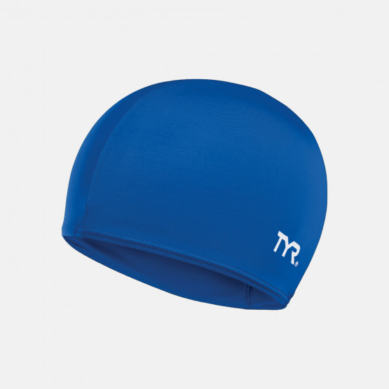 TYR Solid Lycra Swimming Cap