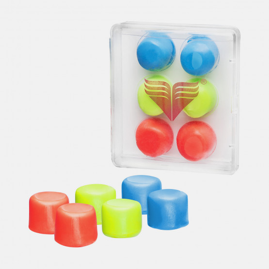 TYR Youth Multicolor Silicone Ear Plugs