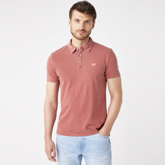 Wrangler Ss Gd Polo Barn Red