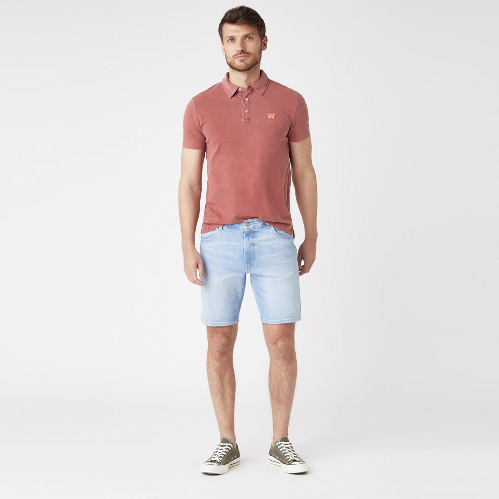 Wrangler Polo in Barn Ανδρικό T-shirt