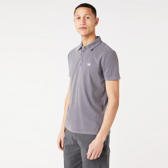 Wrangler Ss Gd Polo Tornado Grey
