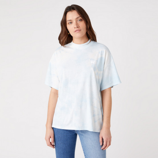 Wrangler High Neck Γυναικείο T-shirt