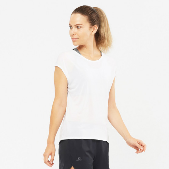 Salomon Trail Running Women Xa Ss Tech Tee W White