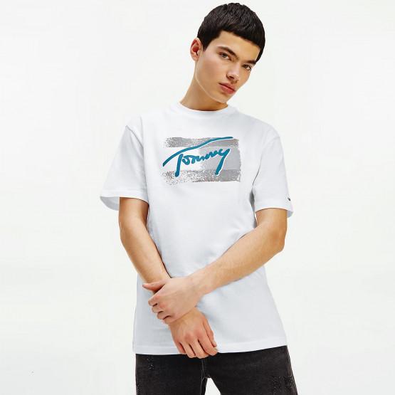 Tommy Jeans Vintage Signature Organic Cotton Men's T-shirt