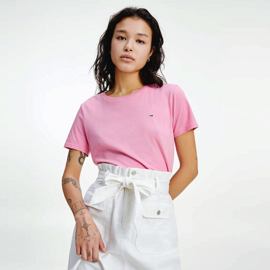 Tommy Jeans Soft Jersey Γυναικείο T-shirt