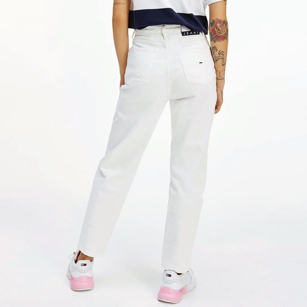 Tommy Jeans Mom High Rise Γυναικείο Τζιν