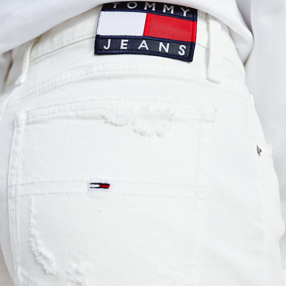 Tommy Jeans Raw Hem Denim Γυναικείο Σορτς