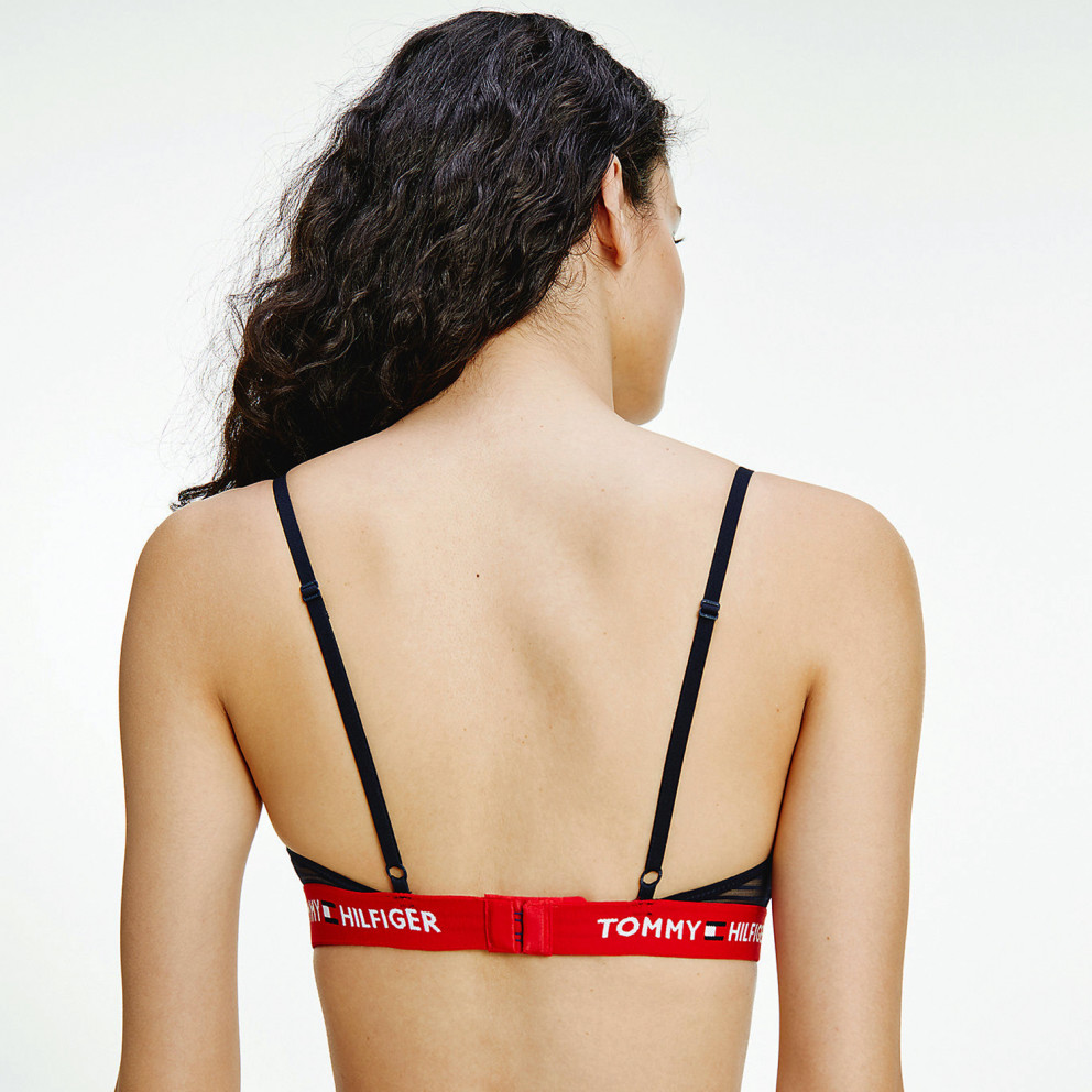 Tommy Jeans Triangle Bralette Γυναικείο Σουτιέν