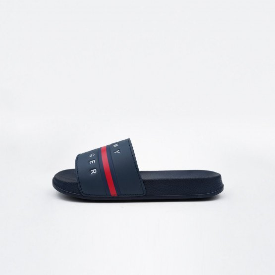 Tommy Jeans Flag Print Kid's Pool Slides
