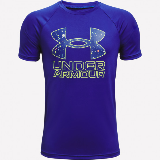 Under Armour Tech Hybrid Prt Fill Girl's T-shirt