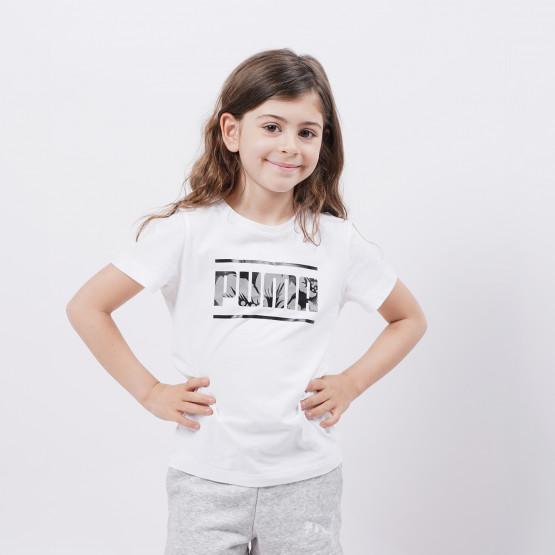 Puma Alpha Tee Παιδική Μπλούζα Για Μικρά Παιδιά