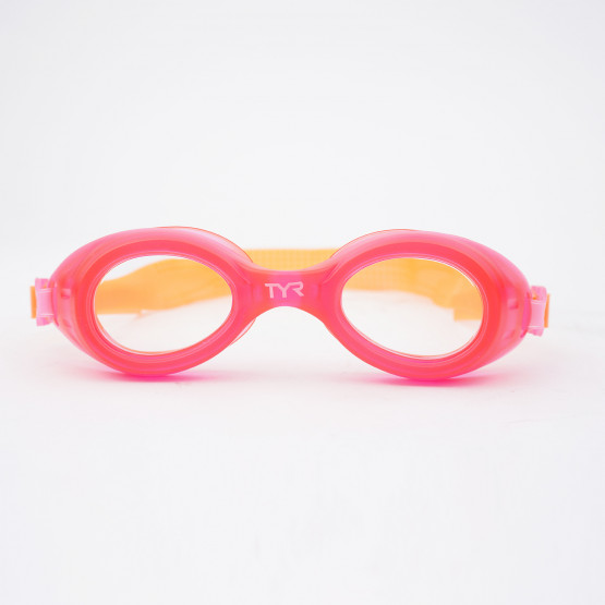 TYR Aqua Blaze Kids Clear/Pink/Orange