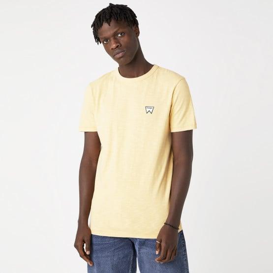 Wrangler Veg Tee Lovely Mango Ανδρικό T-shirt