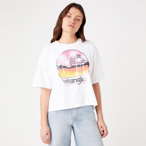 Wrangler Desert Boxy Γυναικείο T-shirt