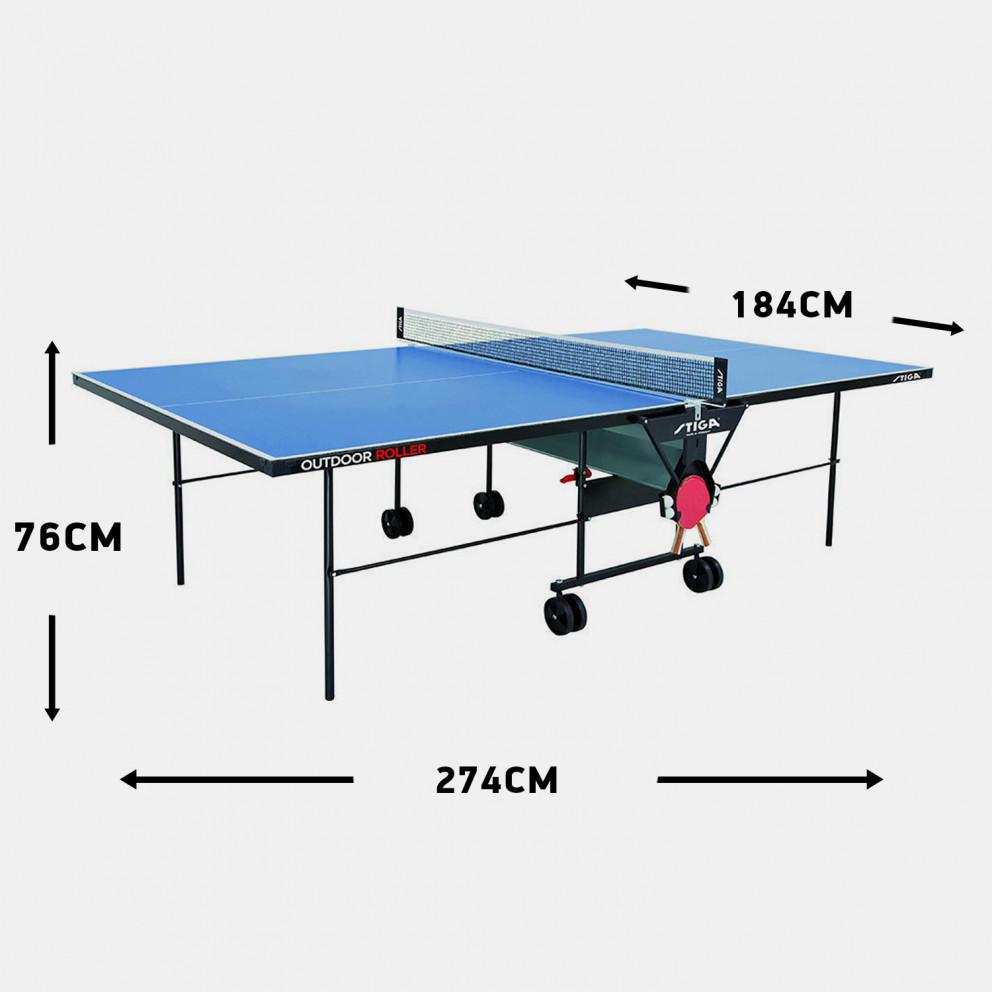 Stiga Private Roller Outdoor Table Tennis 274 X 184 X 76 Cm.