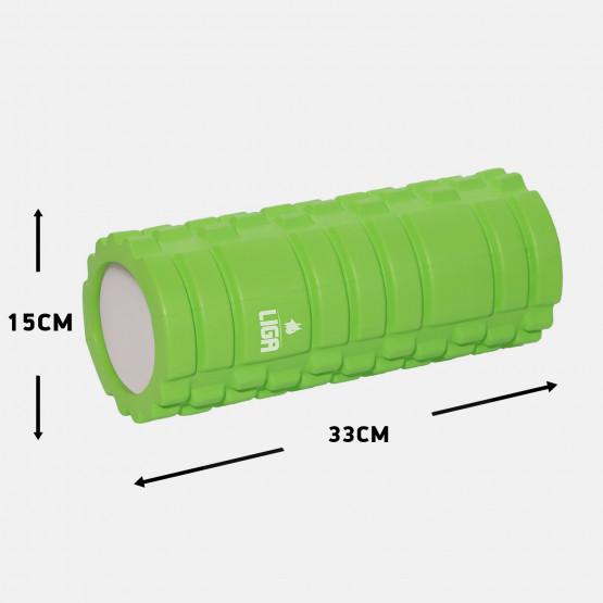 LIGASPORT Foam Roller (ΠΡΑΣΙΝΟ)