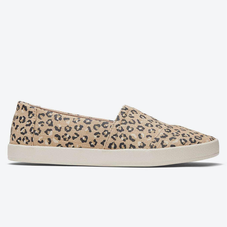 TOMS Slipon Avalon Nat Textured Cheetah Wm Ava Sli (9000074464_4182)