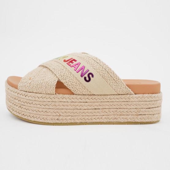 Tommy Jeans Rainbow Women's Flatform Mules