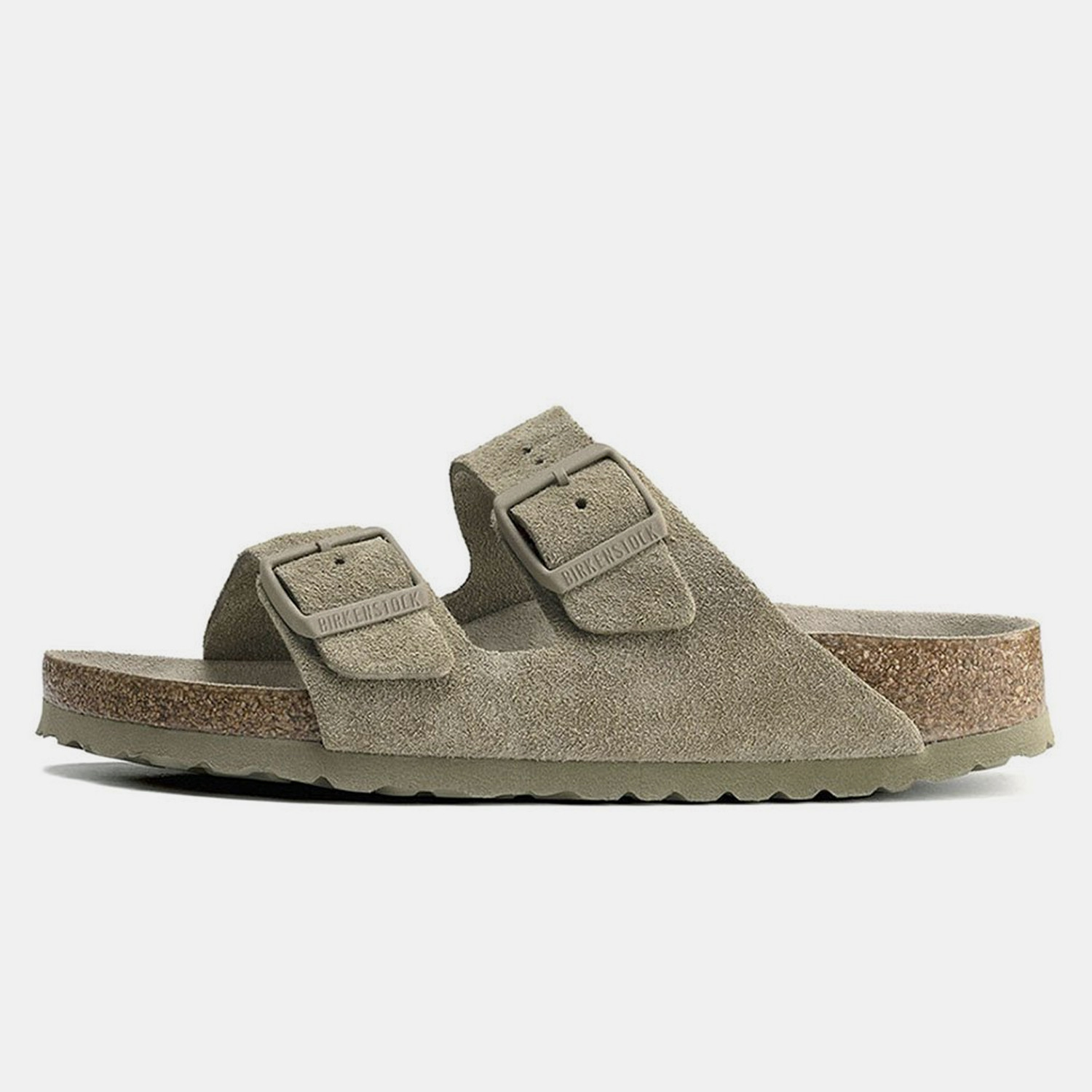 Birkenstock Bs Classic Arizona Bs Faded Khaki 35-4 (9000079538_53121)