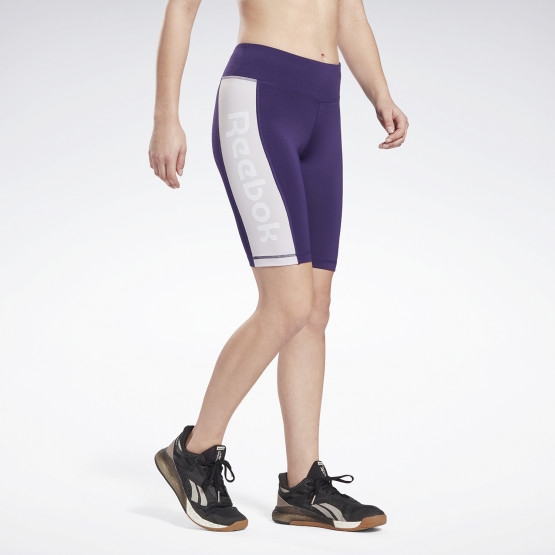 Reebok Linear Logo Fitted Women's Shorts
