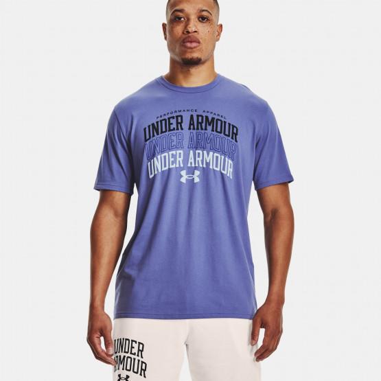 Under Armour Multi Color Collegiate Ανδρικό T-Shirt