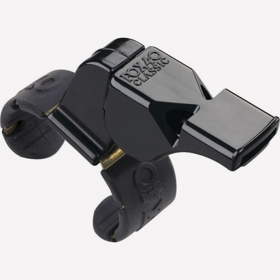 Fox Σφυριχτρα 40 Classic Official Fingergrip Μαυρη