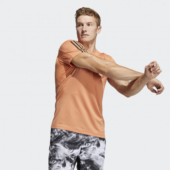 adidas Performance Primeblue Aeroready 3-Stripes Slim Ανδρικό T-shirt
