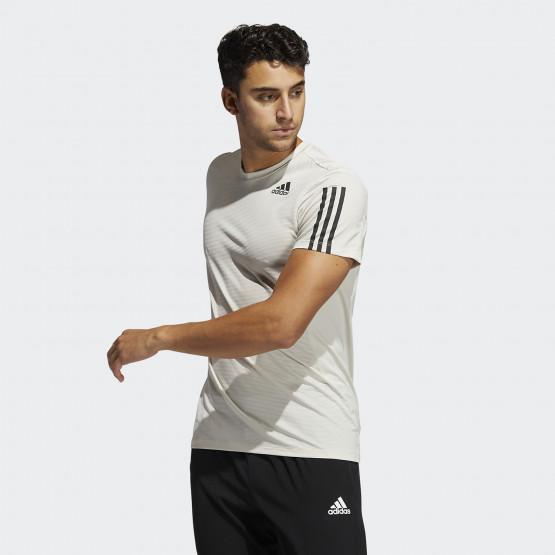 adidas Performance Primeblue Aeroready 3-Stripes Slim Ανδρικό T-shirt