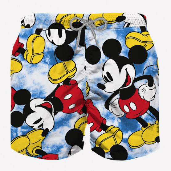 MC2 Jean Tie Dye Mickey Smile Παιδικό Σορτς Μαγιό