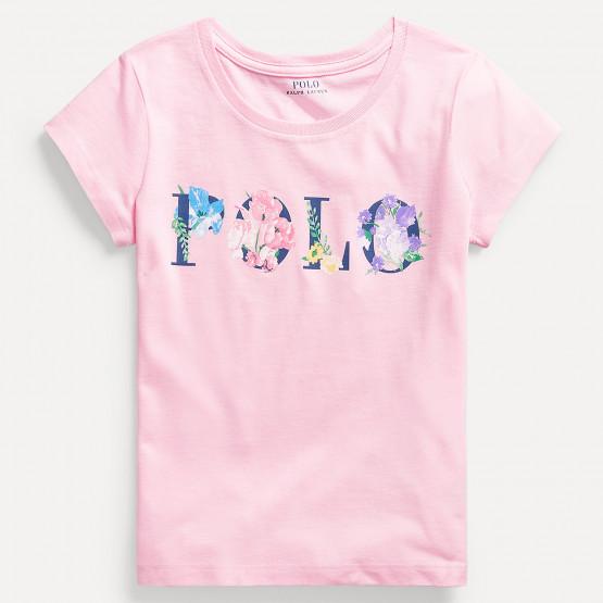 Polo Ralph Lauren Floral Logo Παιδικό T-Shirt