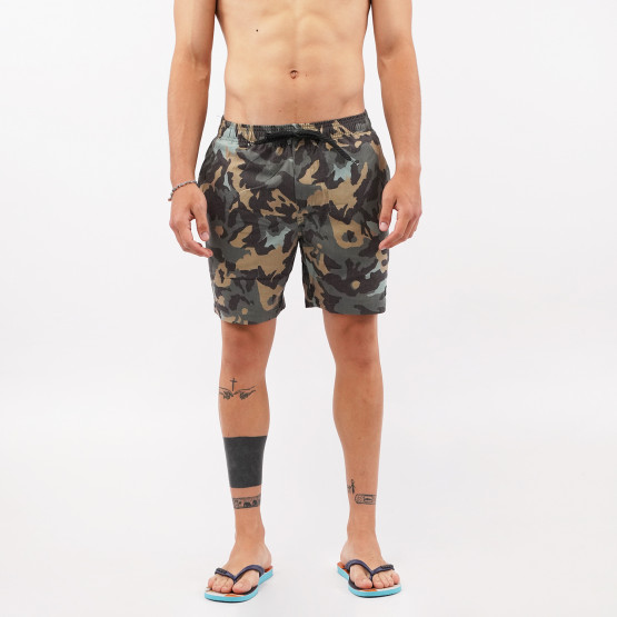 Emerson Men's Printed Packable Volley Shorts
