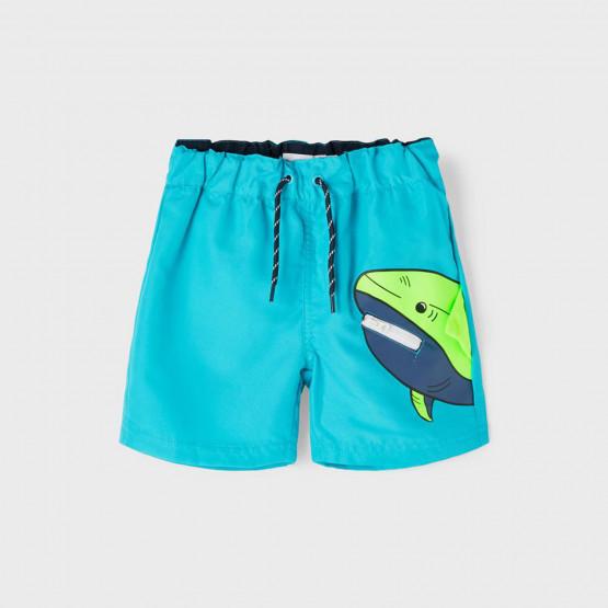 Name it Nmmzharkin Long Swim Shorts