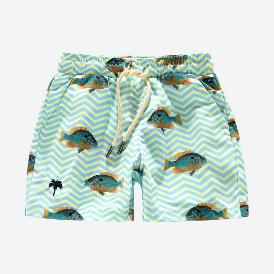 OAS Blue Fish Kids Swimsuit