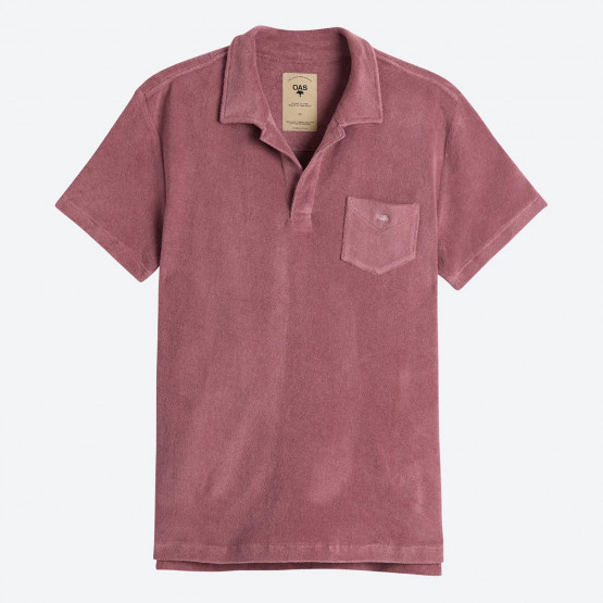 OAS Dusty Plum Ανδρικό Polo T-shirt
