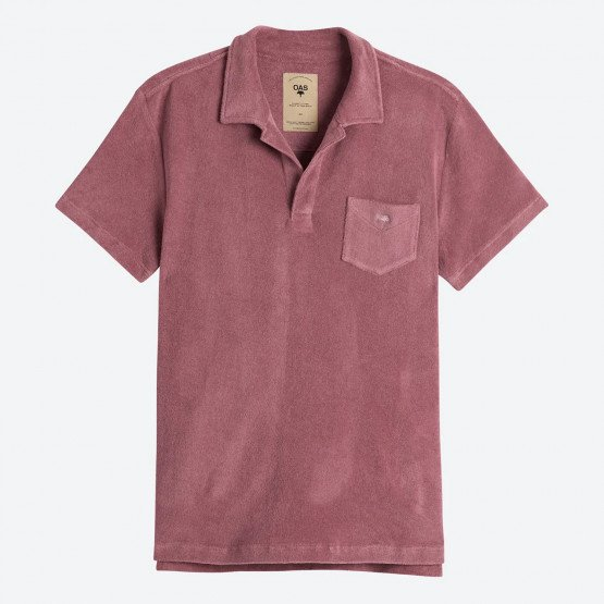 OAS Dusty Plum Men's Polo T-shirt