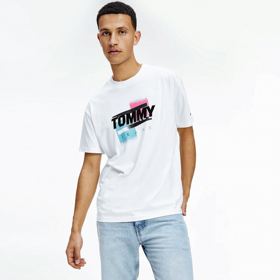 Tommy Jeans Faded Color Graphic Ανδρικό T-Shirt