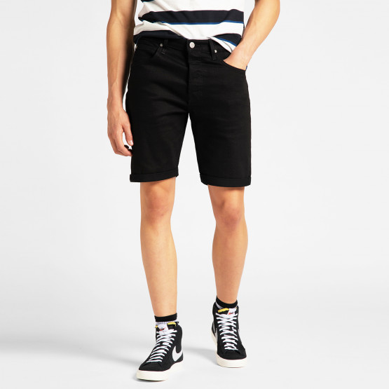 Lee 5 Pocket Short Clean Black
