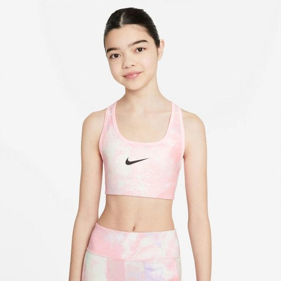 Nike Swoosh Reversible Printed Kid's Sports Bra