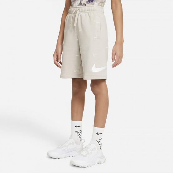 Nike Sportswear Swoosh Παιδικό Σορτς