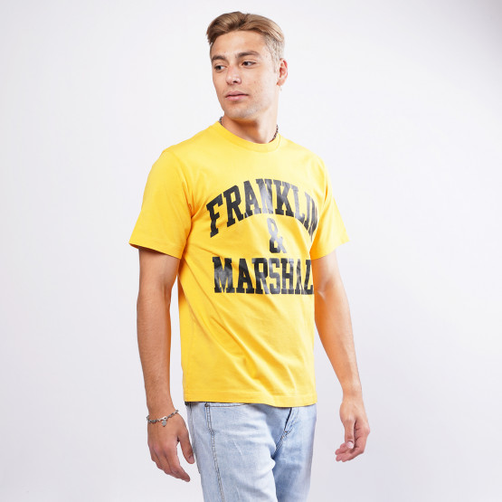 Franklin & Marshall Big Logo Men's Τ-Shirt