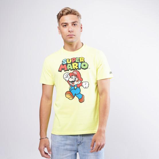 MC2 Tshirt Man Licence Mario Jump 94