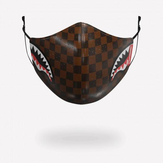Sprayground Sharks i Paris Brown PU Face Mask